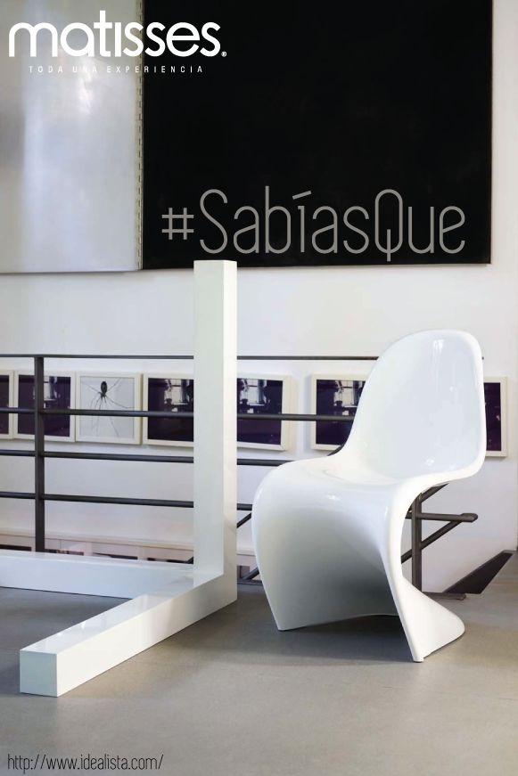 #SabíasQue la silla #BallChair fue creada en los años 60 con el objetivo de ser una pieza para momentos de relax y confort
