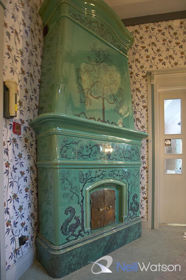 Tiled Fireplace Pictures
