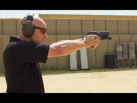 Pistol Shooting Drill to Improve Accuracy - Shooting Tips from SIG SAUER Academy - YouTube