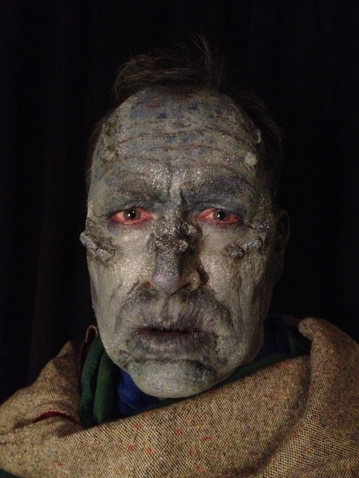 Effects or Stage makeup look. Just playing around after reading about a Stone Gollum.