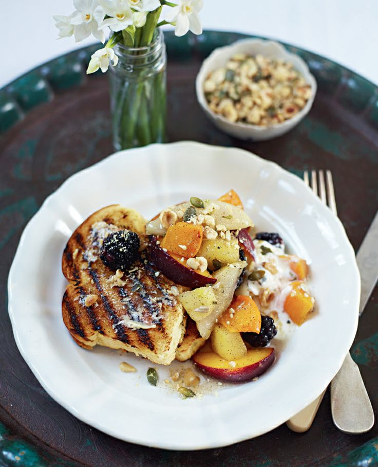 Cinnamon Toast with Poached Fruits #Woolworths #MothersDay #Breakfast #Recipe #HappyMothersDay