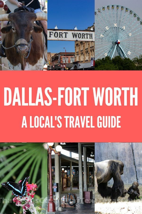 Fort worth visitors guide.