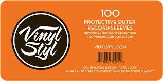 Vinyl Sleeves 100ct