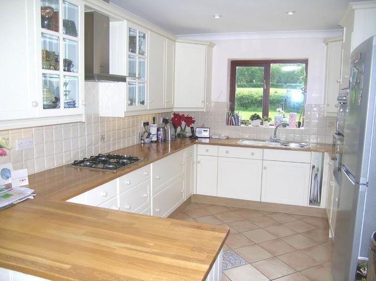 White Kitchen With Wooden Worktops 85 best kitchen images on pinterest | home ideas, kitchen and
