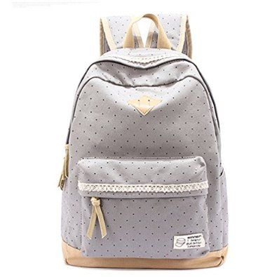 HITOP Fashion New street style Plaza Ladies Vintage Floral Canvas Backpack for Outdoor Camping Picnic Sports 14 '' laptop satchel University bag