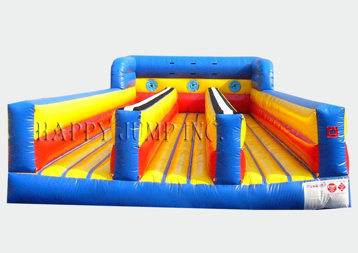 bungee run 3 lane bounce house for sale jumpers for sale inflatable slide happy jump interactive inflatable games pinterest inflatable slide - Bounce House For Sale