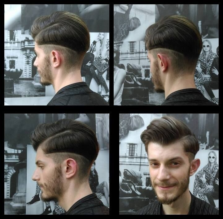 Men hairstyle. 4 Fashion Sake. Salon Portre.  #hairlovers #creativecut #salonportre