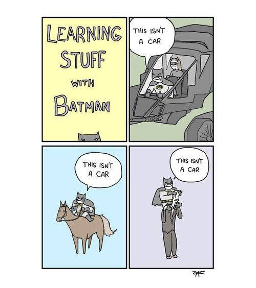 animexaddict:    Learning with Batman