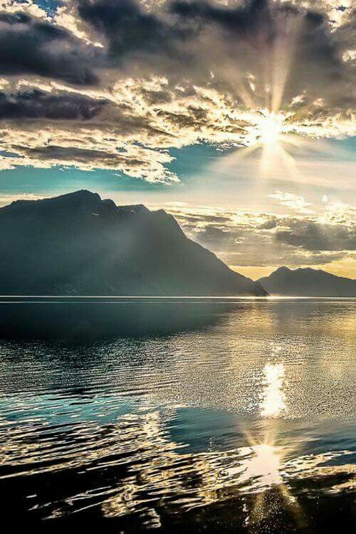 Sunset in Norway