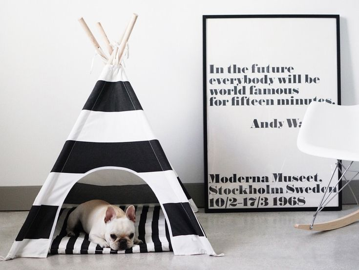 Dog Teepee The Polka Dog Pets Dog Houses Pinterest