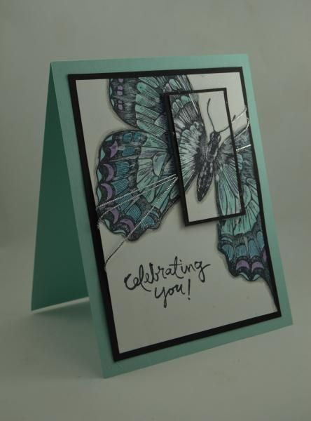Spotlighted Swallowtail by mamaxsix - Cards and Paper Crafts at Splitcoaststampers