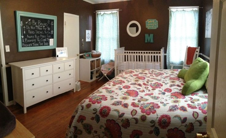 100 ideas to try about share room with parent guest room for Master bedroom with crib ideas