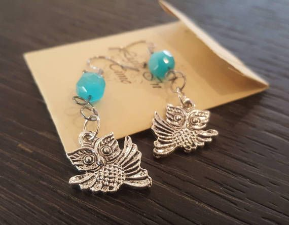 Hey, I found this really awesome Etsy listing at https://www.etsy.com/listing/572756370/owl-earrings-silver-colored-metal-bird