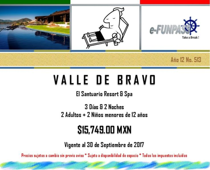 e-FUNPASS Año 12 No. 513 :) Valle de Bravo