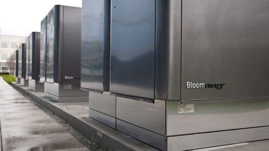 The formerly secretive Bloom Energy launched its Bloom Energy Server today that it hopes will eventually find it into backyards to provide cleaner and cheaper electricity.