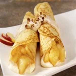 Receta Costaricense de Crepes de Manzana, Blog de Recetas