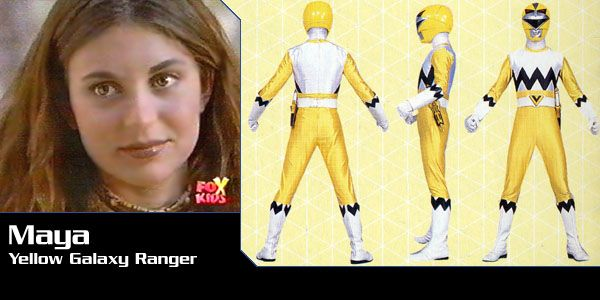 Maya (Yellow Galaxy Ranger) - Power Rangers Lost Galaxy | Power Rangers Central