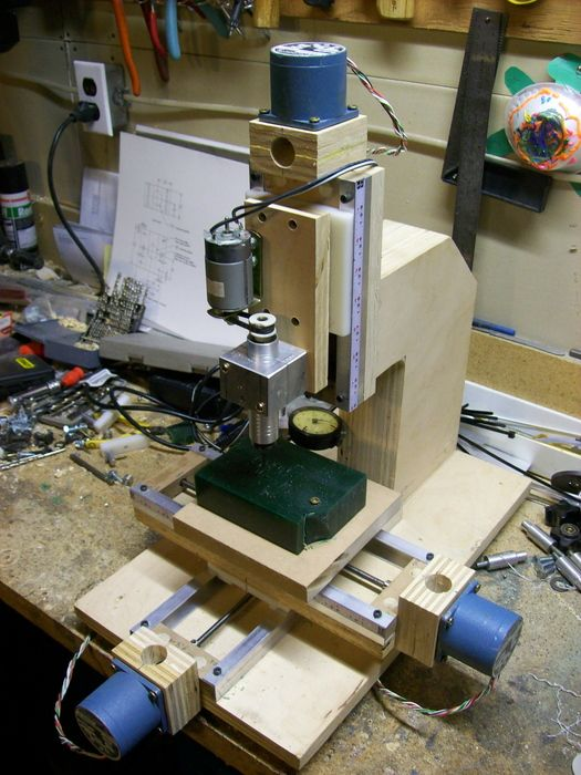 how to make a 4 axis cnc mill