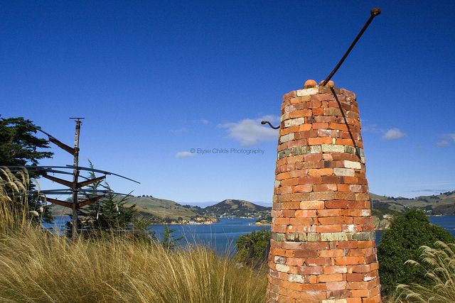 Sculptures by Dunedin Harbour   © Elyse Childs Photography