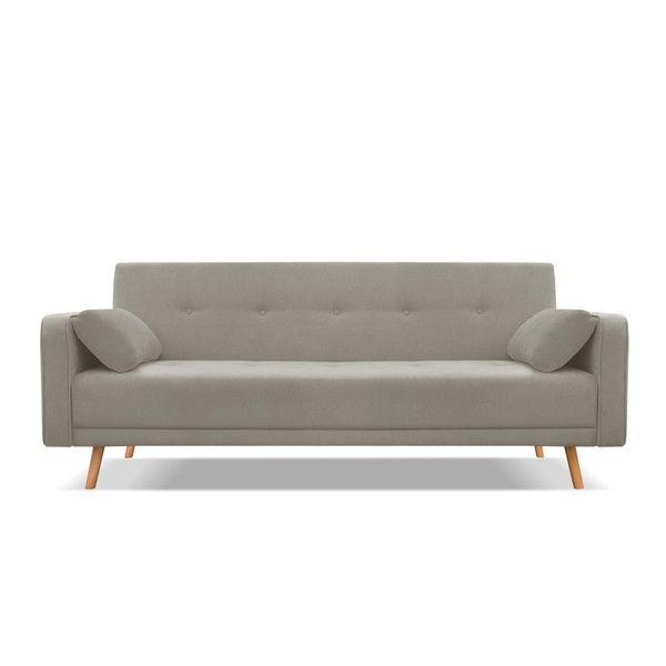 Beżowa czteroosobowa sofa rozkładana Cosmopolitan design Stuttgart