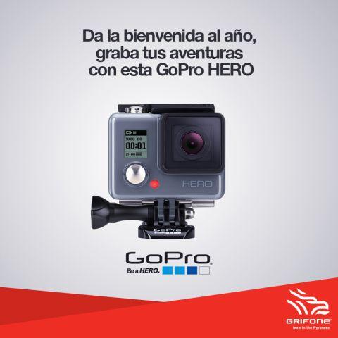 Participa y gana una fantástica GoPro HERO!