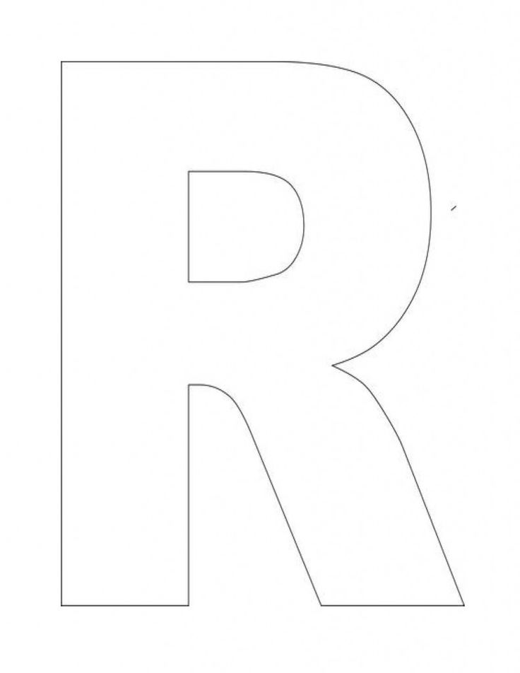 letter r coloring pages preschool - photo#5