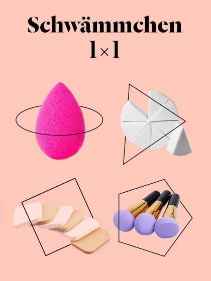 Es gibt unzählige Make-up Schwämmchen da draußen. Aber welcher ist denn nun eigentlich wofür? Der große Stylight Schwämmchen Vergleich mit Make-up Guide.