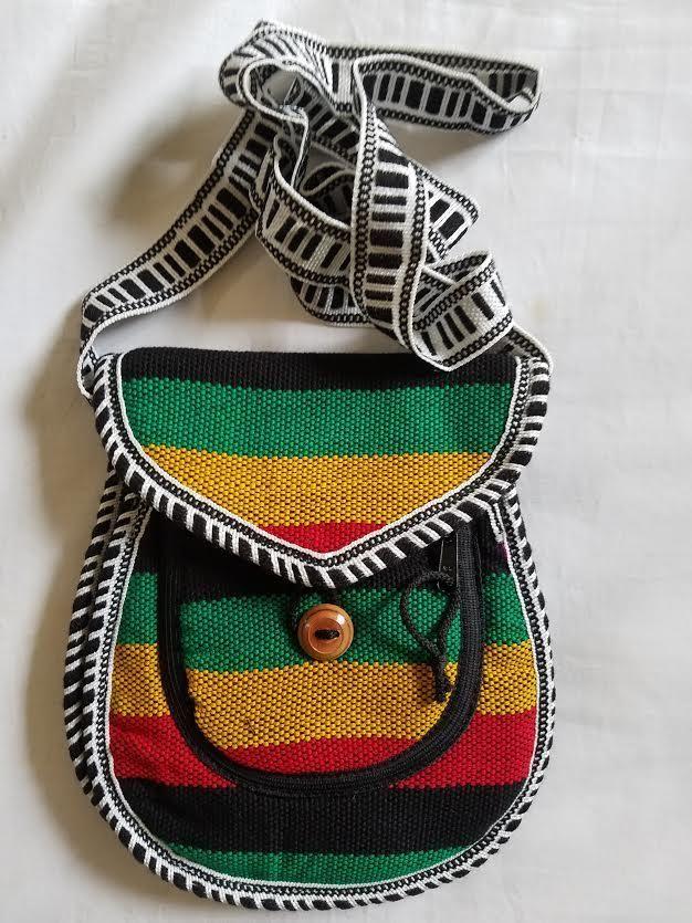 Rasta and Reggae Cross Body Hobo Bag  RLW25