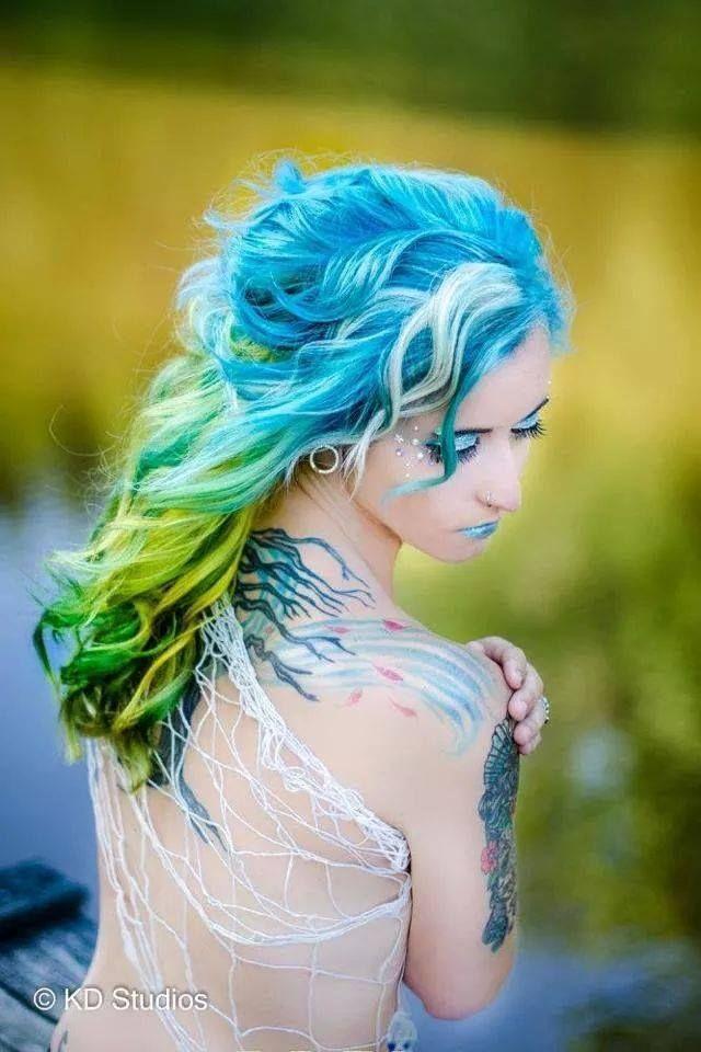 102 best cabello de colores images on Pinterest | Cabello de colores ...