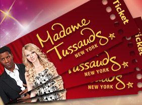 Madame Tussauds (FT): REG $36 Open daily from 10 am. Last entry at 8 pm Sunday through Thursday and 10 pm Friday to Saturday. The attraction may stay open later or close earlier during peak periods. Check the website for updated closing times.