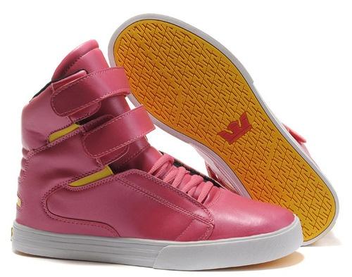 White Supra Shoes