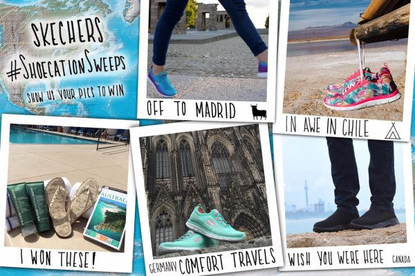 #SKECHERS #Shoecation Instagram #Contest - Win A Pair of SKECHERS #Shoes: http://www.fashionecstasy.com/skechers-shoecation-instagram-contest-win-a-pair-of-skechers-shoes/