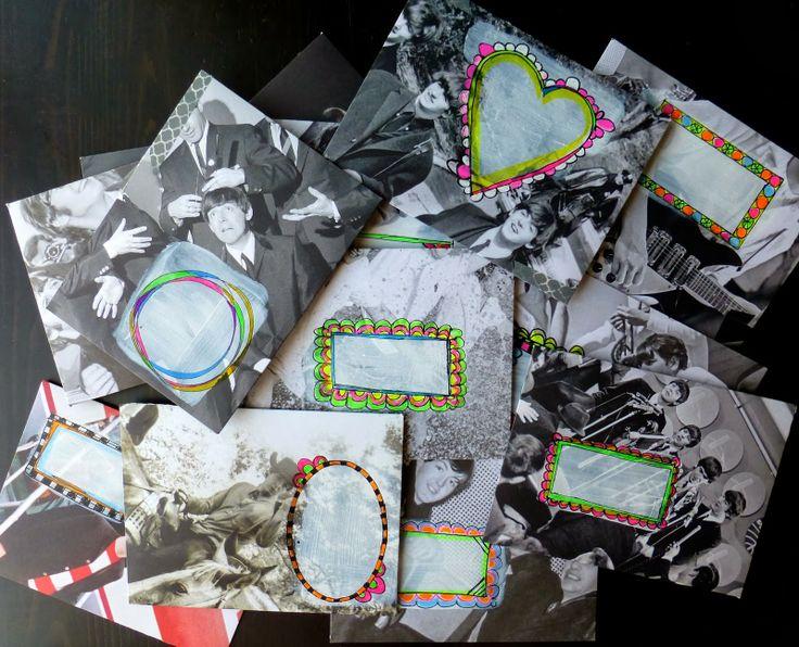 Neon Rock and Roll Envelopes: Tutorial | Envelope tutorial