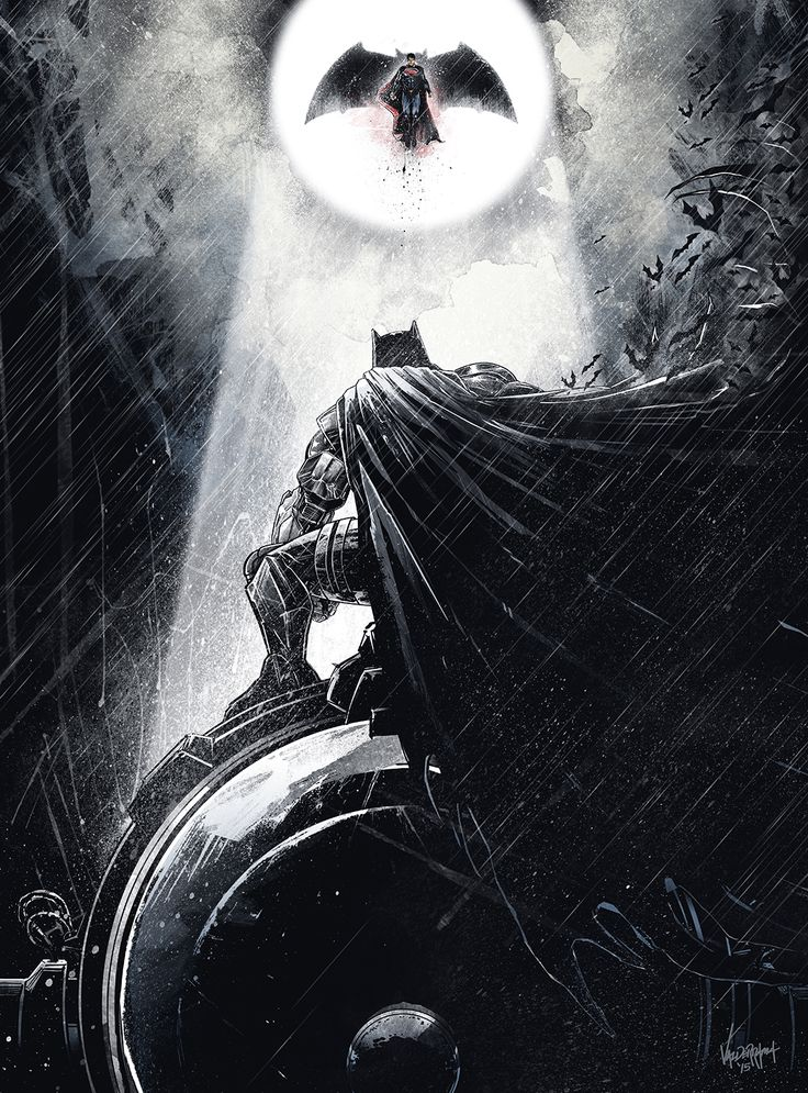 """Batman vs. Superman"" by JP Valderrama"