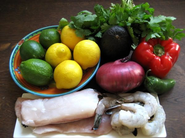 Halibut, Snapper and Shrimp Ceviche | Marks Daily Apple
