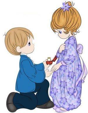 precious moments anillo