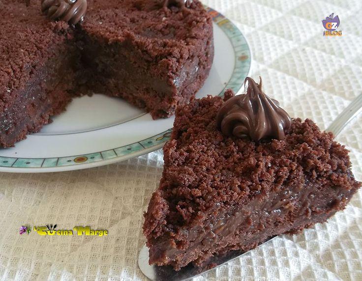 Sbriciolata di biscotti con crema alla nutella ,un dolce favoloso semplice e senza cottura. Per preparare la sbriciolata ho usato dei biscotti al cioccolato