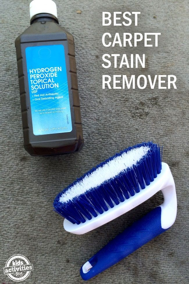 We found the magic stain remover! Our van floor was nasty. Really nasty. Remember when we...