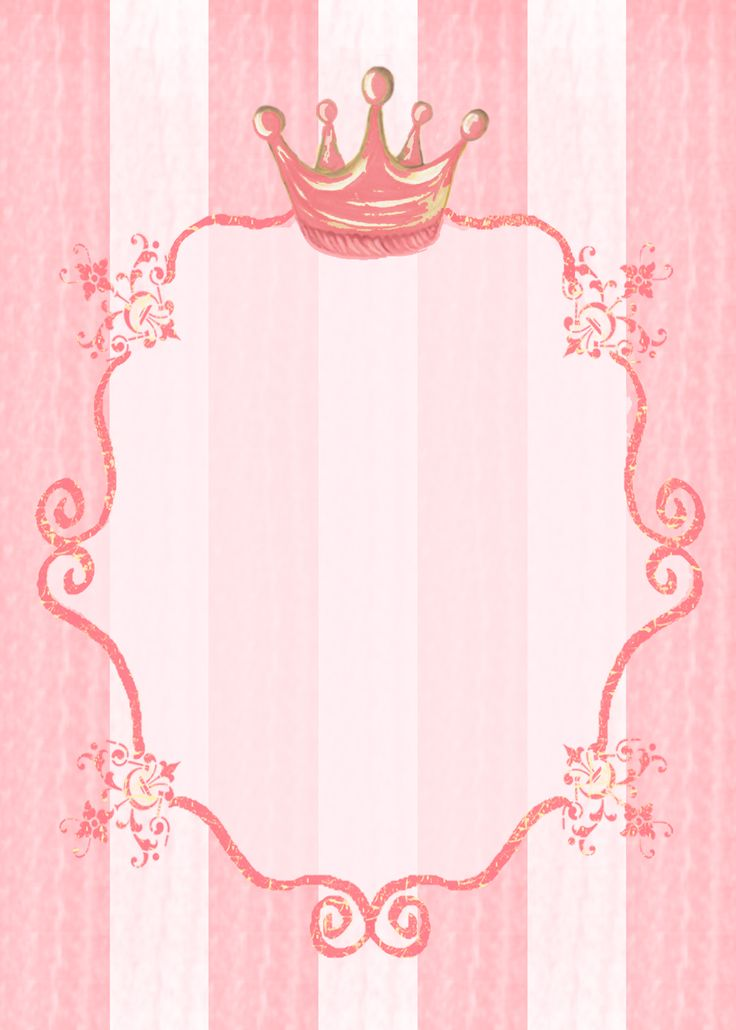 Royal party invitation background. Could also work for signage.