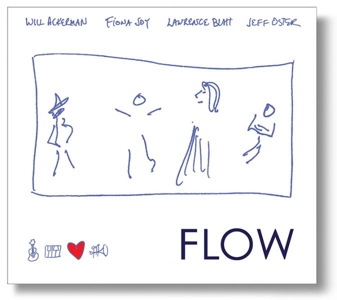 CD Review of FLOW By Fiona Joy, Lawrence Blatt, Jeff Oster, and Will Ackerman |