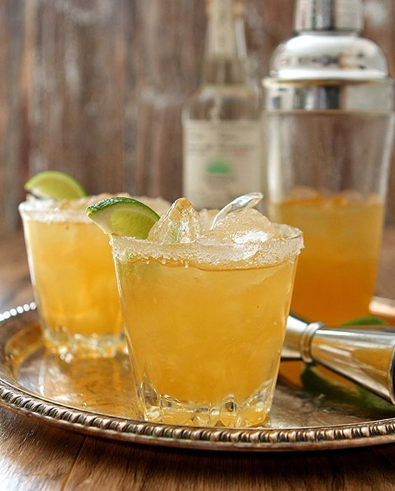 Casamigos Margarita - George Clooney's brand is not just another pretty face; it's a very nice tequila and this margarita with all fresh juices and the Blanco product is superb.