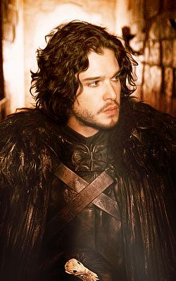 Kit Harrington as Jon Snow. I believe the bastard will become king of it all.  Book too