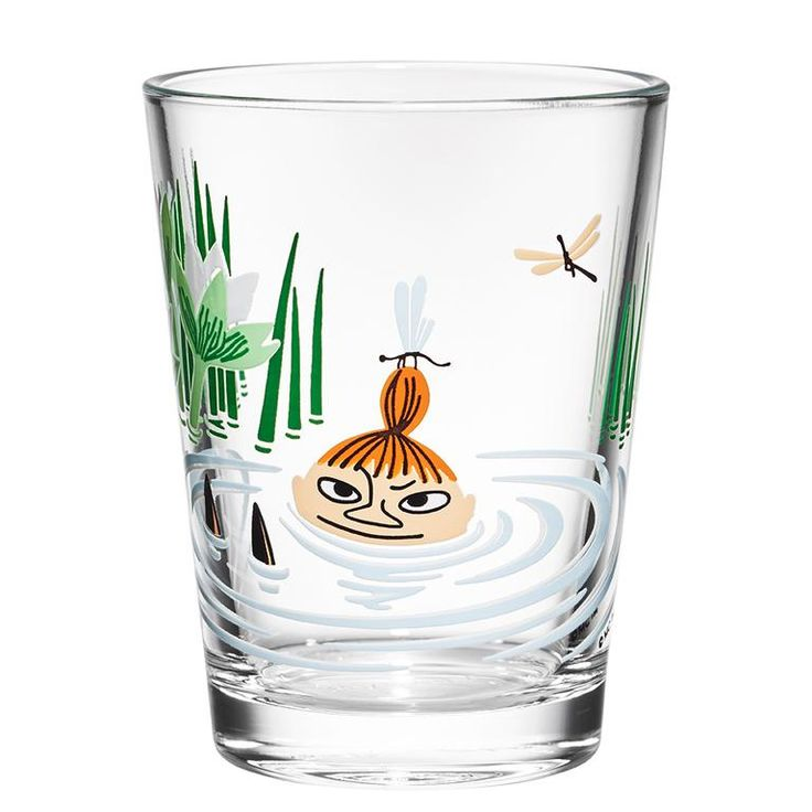 Moomin glass tumbler 22cl Little My - The Official Moomin Shop