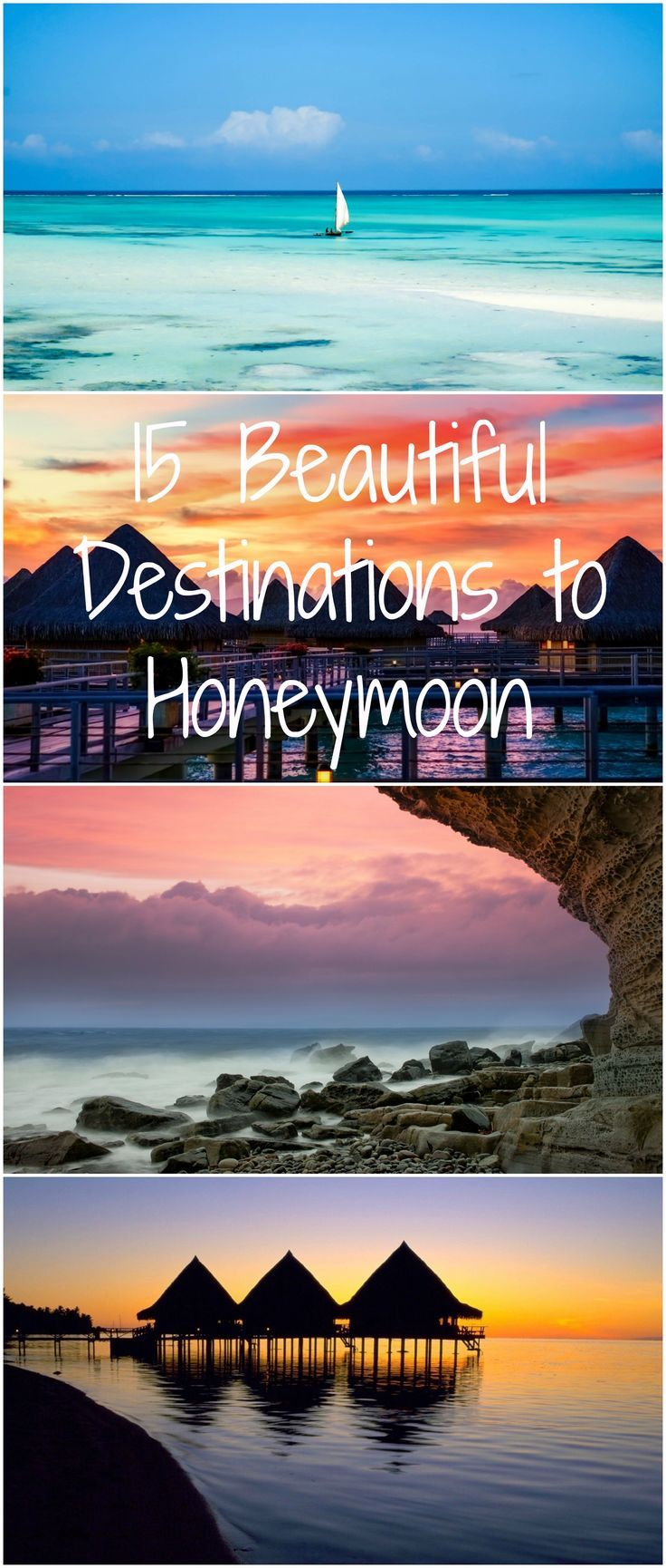 Tahiti, The Seychelles, the beaches of Africa, Scotland, Norway...all of these are great places to travel to and take a honeymoon this year!