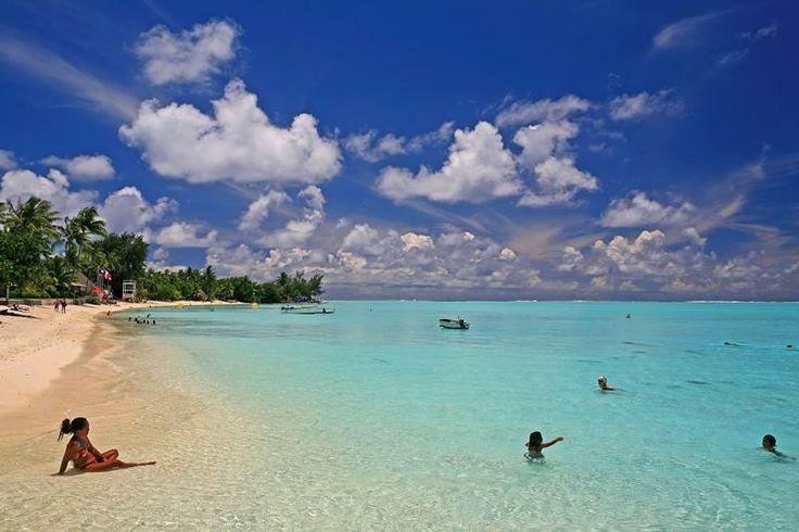Matira Beach, Bora Bora, Polynesia