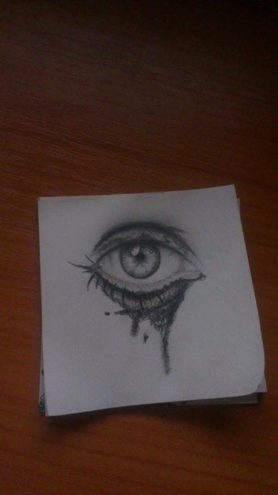 Pencil Drawing, drawn on block notes Way later than midnight