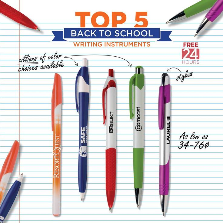 Pens, Pens, and more Pen styles for when you go Back To School! #HubPen #CSIPromos #BackToSchool