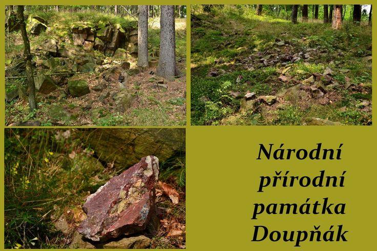 Jdnoho z nejvýznamnějších zvláště chráněných území severozápadních Čech. Národní přírodní památka Doupňák, stejně jako blízká národní přírodní památka Ciboušov, jsou mineralogicko-archeologickými lokalitami evropského významu. Výjimečnost této lokality tkví především v bohatém výskytu drahokamových odrůd křemene.