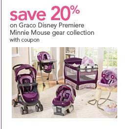 Purple Graco Minnie Mouse Car Seat