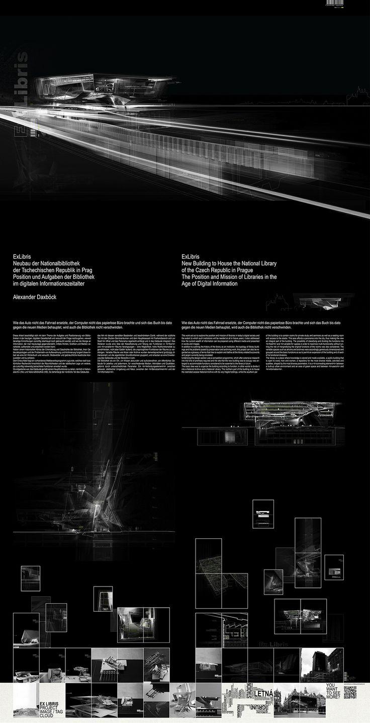 7 mejores im genes de rep presentation board black en - Paginas de arquitectura y diseno ...